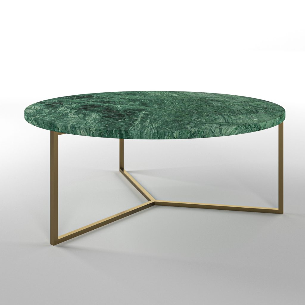 Simple3 Green Marble Coffee Table