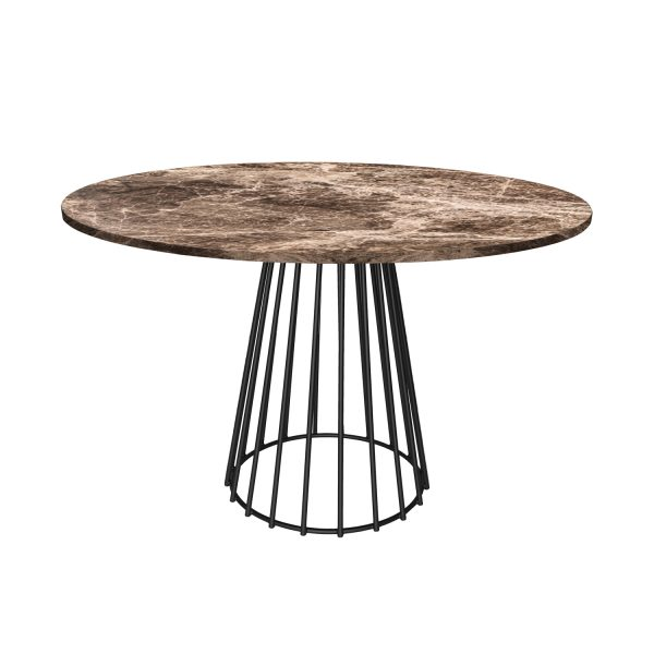 Barcelona Emperador Dining Table