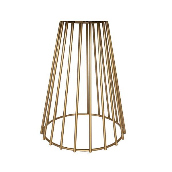 Gold colour brass leg
