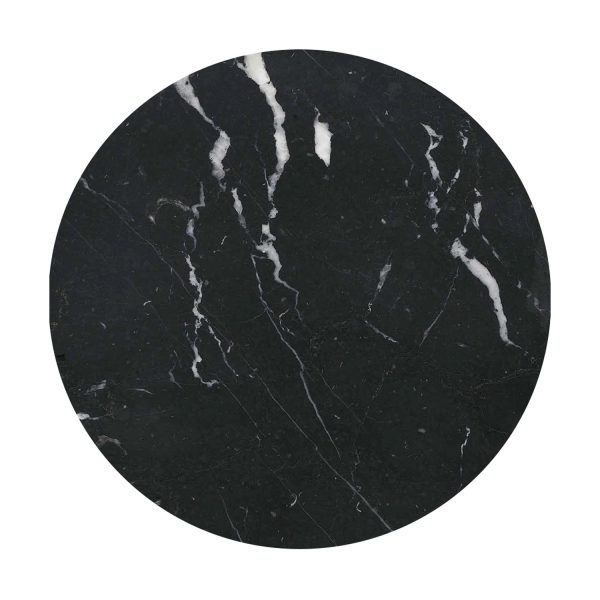 Markina Black marble top