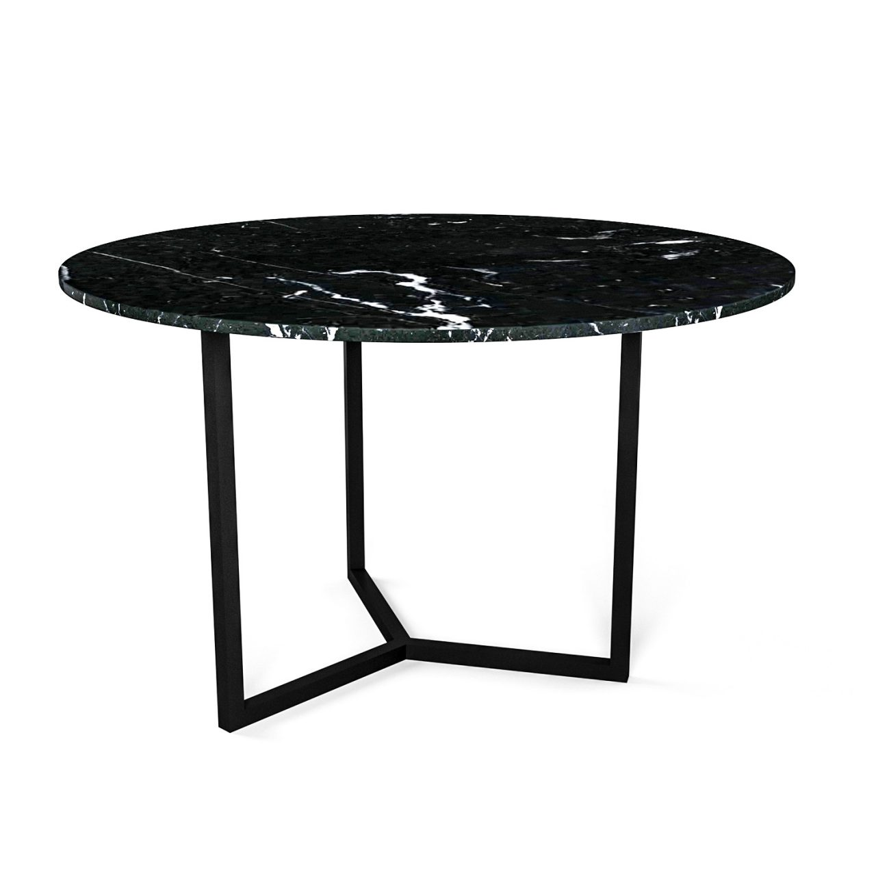 Simple3 Black Marble Dining Table