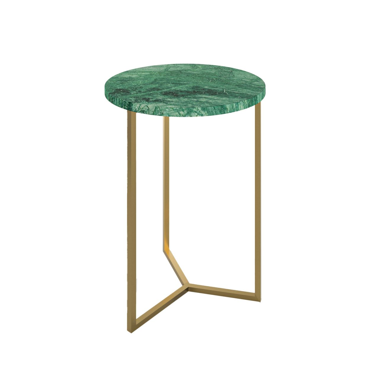Simple3 Green Marble Side Table